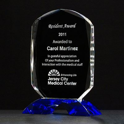 Picture of Diamond Series Crystal Award