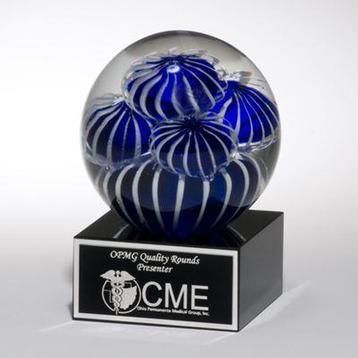 Picture of Art Glass Sea Anemone Globe