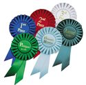 "Picture of Stock 6.5"" Ribbon Rosettes"