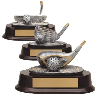 Picture of Golf Club Resin Trophies