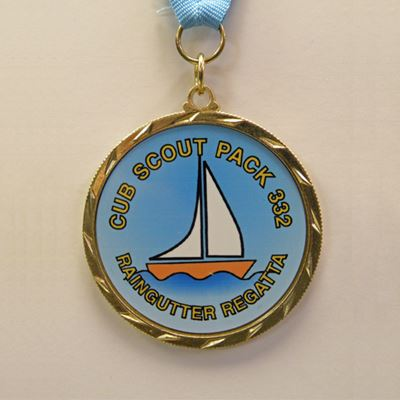 Picture of Custom Raingutter Regatta Medal