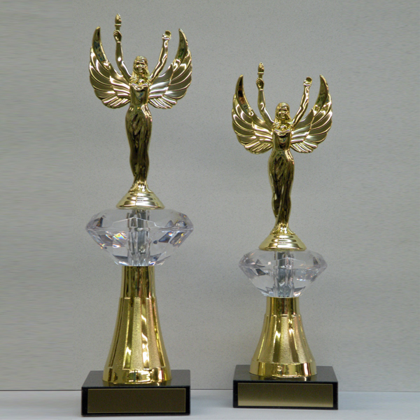 midwest awards corporation diamond riser trophy
