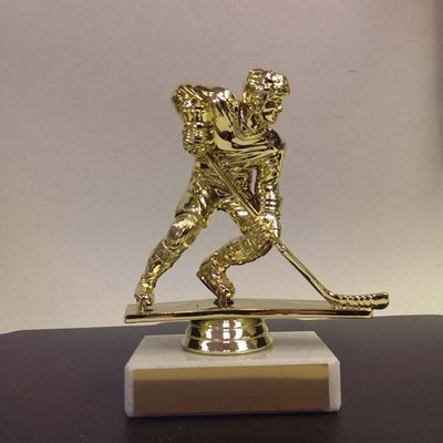 Picture of Marble Base Trophy Figures