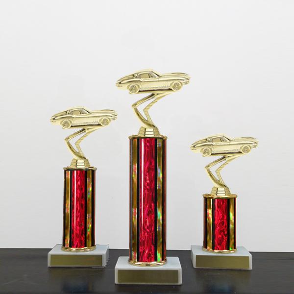 Midwest Awards Corporation SM Column Trophies Multiple Colors - Cheap car show trophies