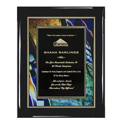 Picture of Black Piano Finish Premium Plaques
