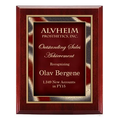 Picture of Artist Series Mahogany Finish Plaques