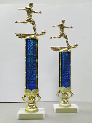 Picture of MD Column Trophies (Multiple Colors) - Soccer