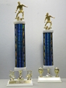 Picture of TRN Column Trophies (Multiple Colors) - Soccer