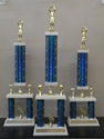 Picture of XL Column Trophies (Multiple Colors) - Basketball