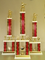 Picture of XL Column Trophies (Multiple Colors) - Soccer