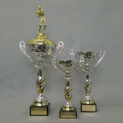 Picture of Gold Swirl Cup Trophy