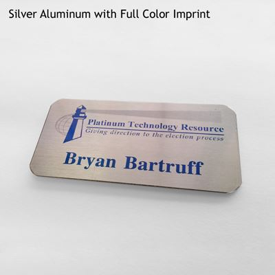 Picture of Custom Metal Name Tags