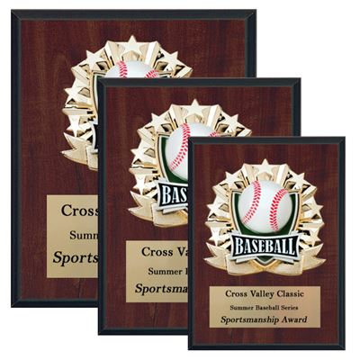 Picture of All Star Cherry Sport / Activity Plaques