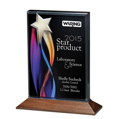 Picture of Color Star Streamer Acrylic Awards