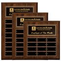 Picture of Cherry Finish Perpetual Plaques