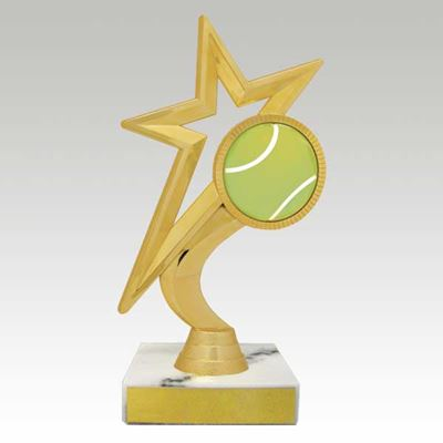 Picture of Gold Star Figure Trophy