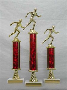 Picture of MD Column Trophies (Helix Red)