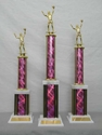 Picture of LG1 Column Trophies (Helix Pink)