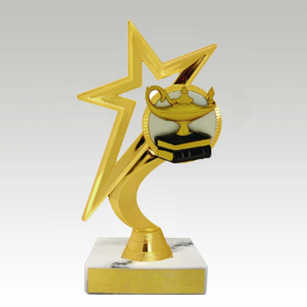Midwest Awards Corporation Gold Star Figure Trophy
