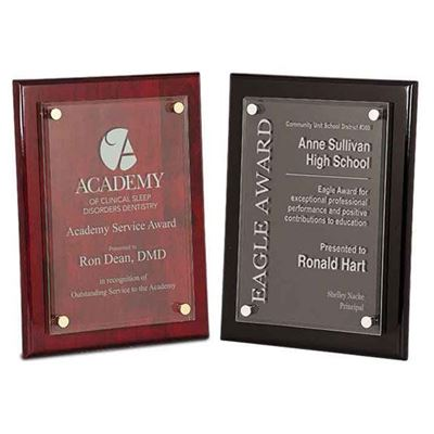 Picture of Floating Acrylic Piano Finish Plaques