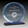 Picture of Oval Accent Glass Awards