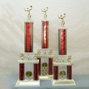 Picture of XL Column Trophies (Multiple Colors) - Volleyball