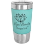 20 Oz. Leatherette Tumbler in Teal