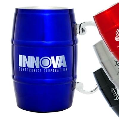 17 oz. Barrel Mug with Handle