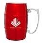 17 oz. Barrel Mug with Handle - Red