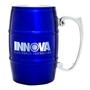 17 oz. Barrel Mug with Handle - Blue