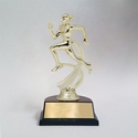 Female Runner Motion Figure