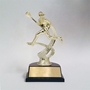 Female Lacrosse Motion Figure