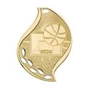 Flame Medal - Basketball