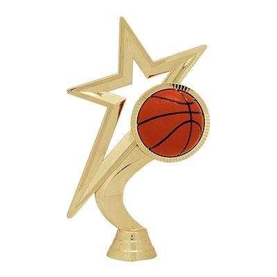 Gold Star Figure - Basketball [+$0.50]