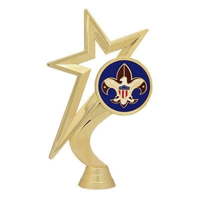 Gold Star Figure - BSA Mylar [+$1.50]