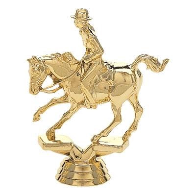 Cutting Horse, Female Rider [+$1.50]