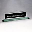 G2788 Glass Name Plate