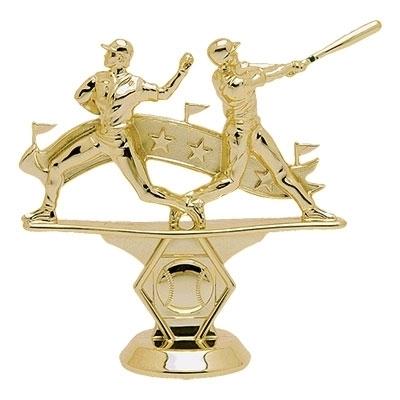 Double Action Baseball Pennant Figure [+$0.55]