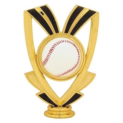 Ribbon Figure - Baseball [+$0.50]