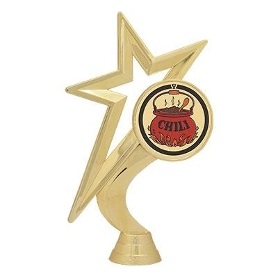 Gold Star Figure - Chili Mylar [+$1.50]