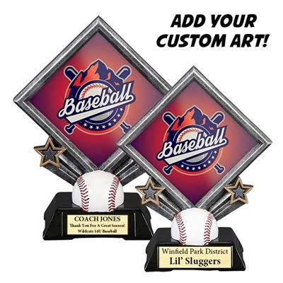 Sport Diamond Resin - Baseball