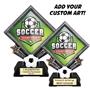 Sport Diamond Resin - Soccer