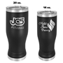 Insulated Pilsners - Black