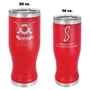 Insulated Pilsners - Red