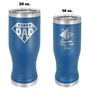 Insulated Pilsners - Blue