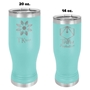 Insulated Pilsners - Teal