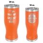 Insulated Pilsners - Orange