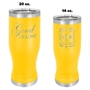 Insulated Pilsners - Yellow