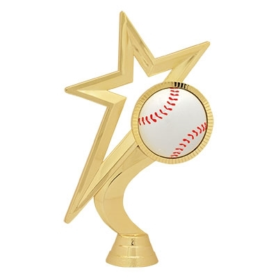 Gold Star Figure - Baseball [+$0.50]