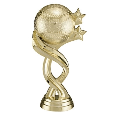 Twisted Figure (Gold) - Baseball [+$0.40]